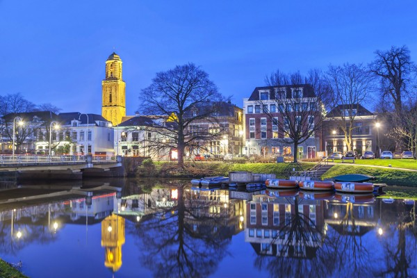 Zwolle by night